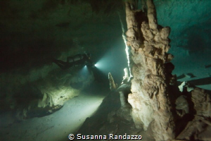 cave diving Riviera Maya by Susanna Randazzo